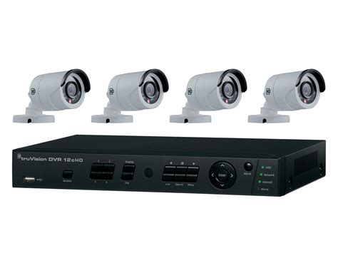 Dvr Ahddvr Analog 2in1 4channel truvision dvr 12hd and hd tvi analog kits solutions interlogix global security