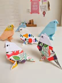Paper Birds Craft - origami birds crafts