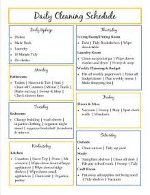 printable house cleaning checklist template search