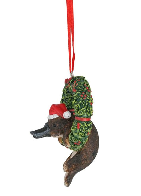 australian christmas decorations wholesale australiana platypus arms hanging deco 8cm wholesale decoration products