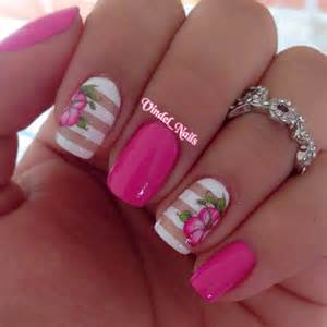 Hello Kitty Flower Arrangements - 65 lovely pink nail art ideas nenuno creative
