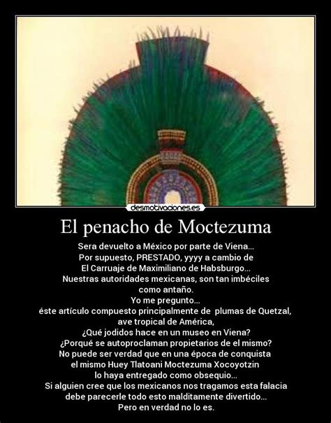 imagenes aztecas con frases im 225 genes y carteles de moctezuma desmotivaciones