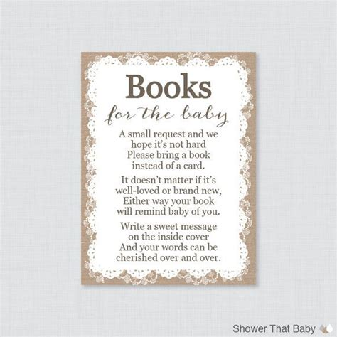 Bring A Book Instead Of A Card Template Free by Baby Shower Invitations Bring A Book Instead Of Card
