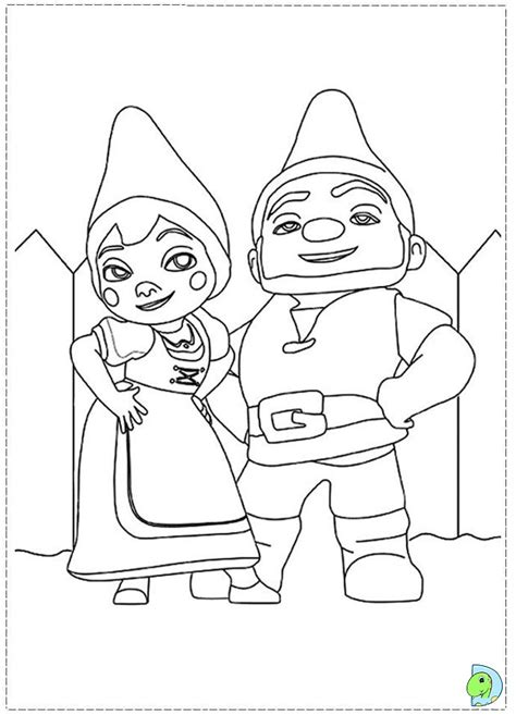Gnomeo And Juliet Coloring Pages gnomeo and juliet coloring page dinokids org