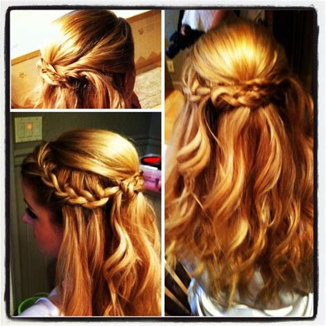 cute hairstyles for junior bridesmaids idea for junior bridesmaid hairstyles pinterest