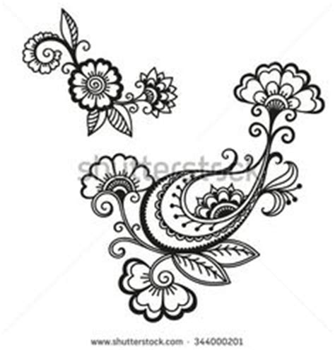 henna tattoo flower template mehndi desenhos