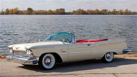 1958 chrysler imperial 1958 chrysler imperial crown convertible s146 kansas