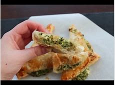 How To Make Puff Pastry With Feta Cheese And Spinach - By ... Meat Spinach Cheese Pastry