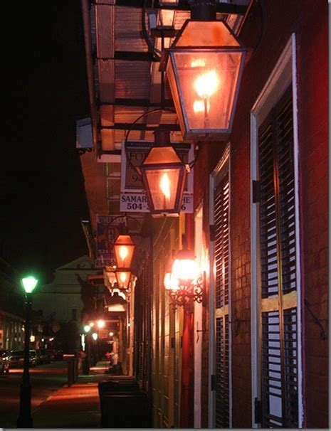Gas Lanterns In New Orleans I Left My Heart In New