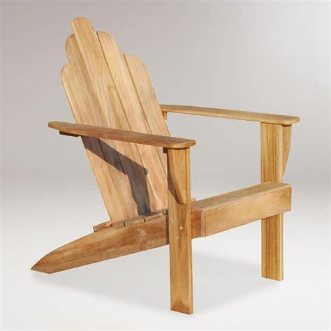 Teak Adirondack Chairs by Teak Adirondack Chair World Market