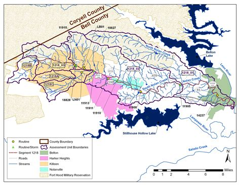 texas watershed map water quality scheduled sept 19 in killeen to focus on nolan creek agrilife