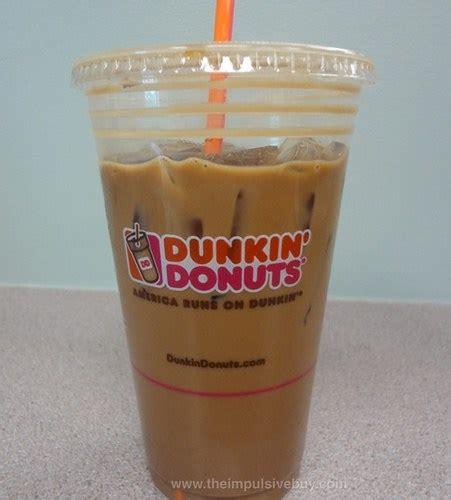 Iced Coffee Dunkin Donuts review dunkin donuts jamoca almond fudge iced coffee
