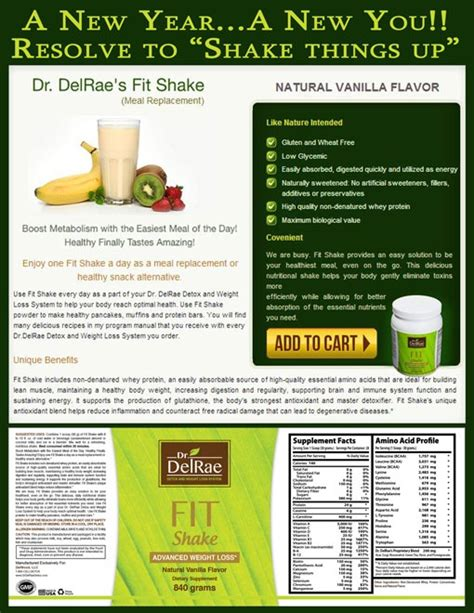 Detox Meal Replacement Shakes by 10 Best Images About Dr Delrae Detox Weight Loss