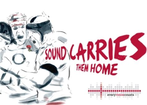 swing low sweet chariot rugby rfu launches every voice counts caign 4 the love of sport