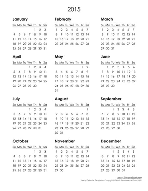 printable free yearly calendar 2015 2015 yearly calendar download 2017 calendar with holidays
