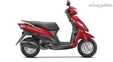 Suzuki Scooters New Launch Suzuki India To Launch Four New Scooters This Year
