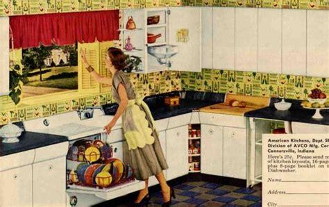 1950 kitchen design retro kitchen design sets and ideas