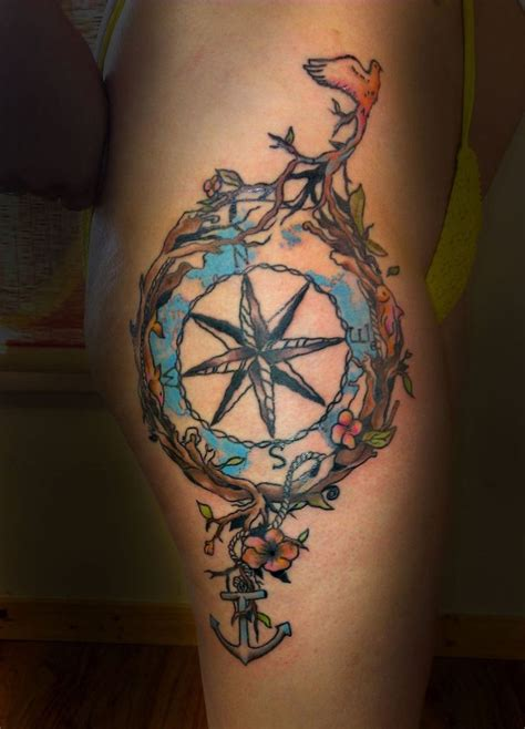 75 amazing compass tattoo designs mens craze