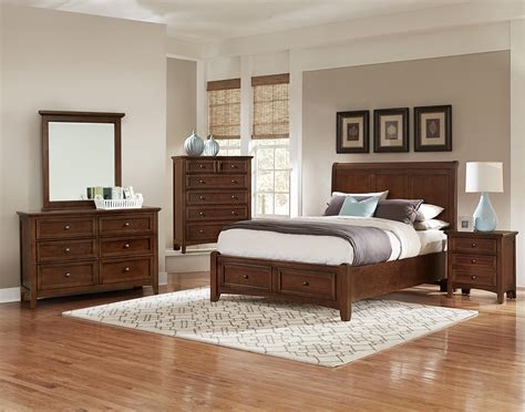 vaughan bassett bedroom vaughan bassett bonanza queen bedroom group olinde s
