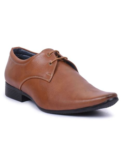 foot n style brown formal shoes snapdeal price formal