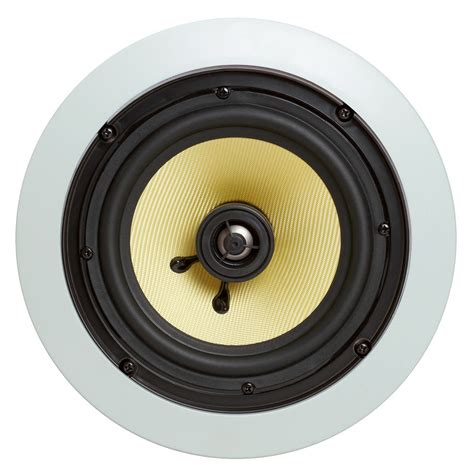 Surround Speakers Ceiling by 6 5 Quot Surround Sound 2 Way In Wall In Ceiling Kevlar