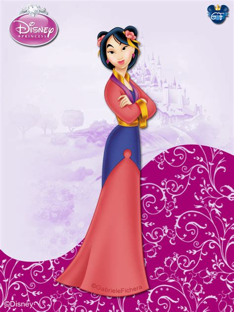 DisneyPrincess  Mulan ByGF by GFantasy92 on DeviantArt