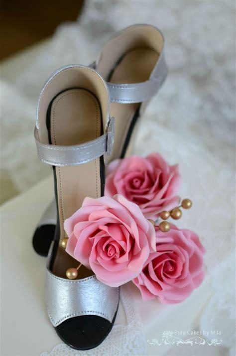 Sparkly Bridal Shoes by Sparkly Bridal Shoes Cakecentral