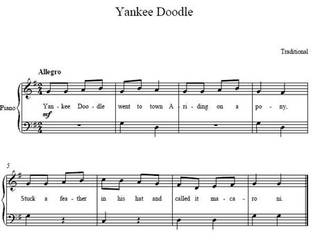yankee doodle in sign language 1000 images about piano for beginners on
