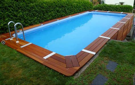 piscina esterna da giardino come scegliere una piscina fuori terra da giardino