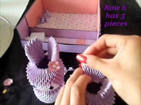 3d origami melody tutorial 3d origami melody tutorial part 2 youtube