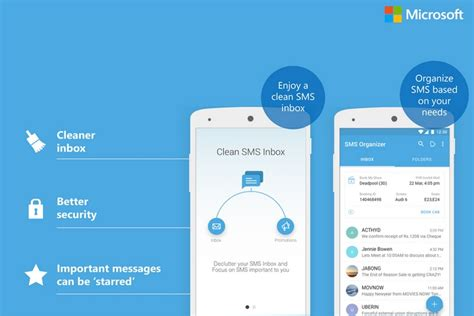 organizer for android microsoft s sms organizer app for android can now track your bank accounts beebom