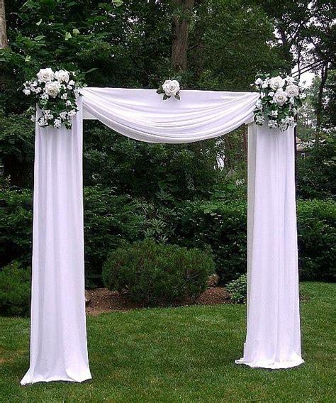 wedding arch omaha tulle arch decorations photos