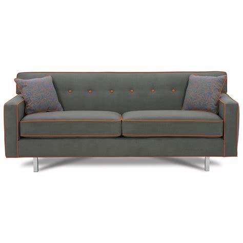 Rowe Dorset 80 Quot Queen Size Sleeper Sofa With Chrome Legs