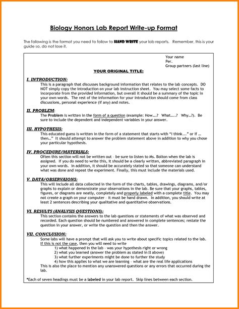 Report Format Essay by Sle Report Essay