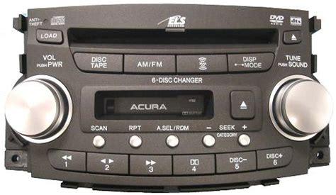 2008 acura tl radio code acura radiosfactory stereo repair radio parts acura car