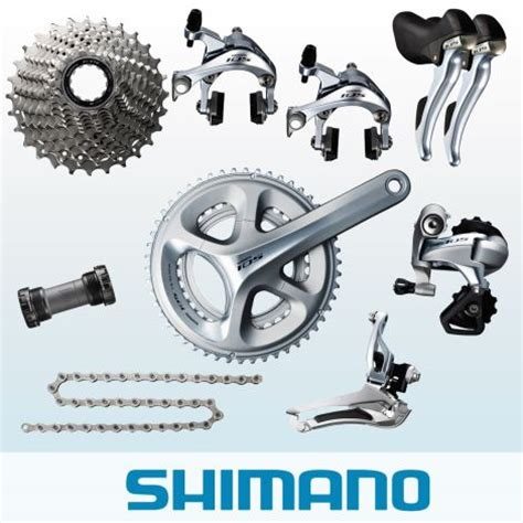 shimano 105 group set 5800 shimano 105 5800 11 speed groupset silver merlin cycles