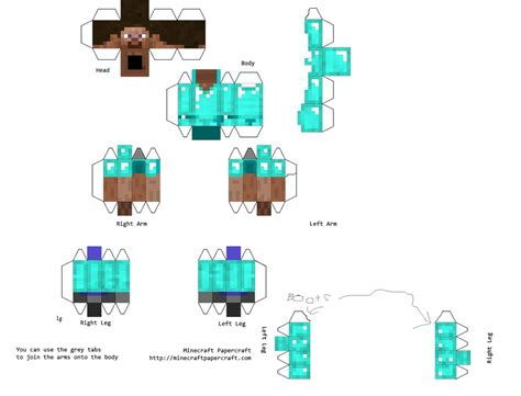 Printable Papercraft - printables minecraft fan club