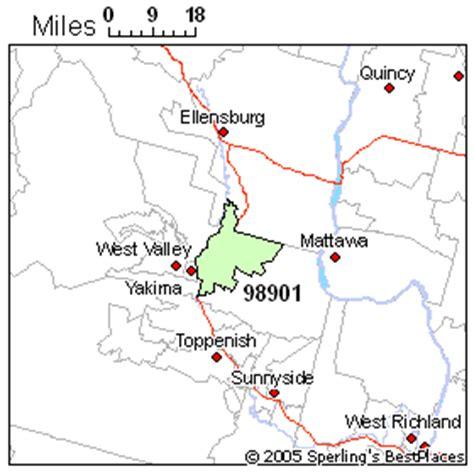 zip code map yakima wa best place to live in yakima zip 98901 washington