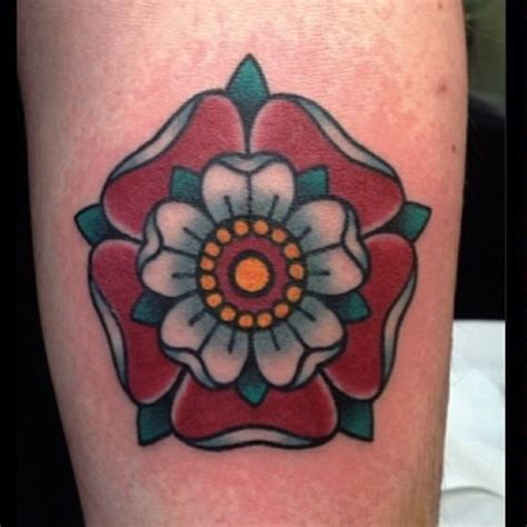 tudor rose by jean roux tattoo tattoos london uk