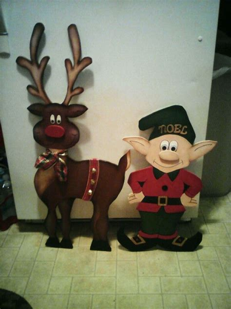 8 Pieces Of Reindeer Decor by 3d Wooden Reindeer By Cutchall Creations Woodcraft