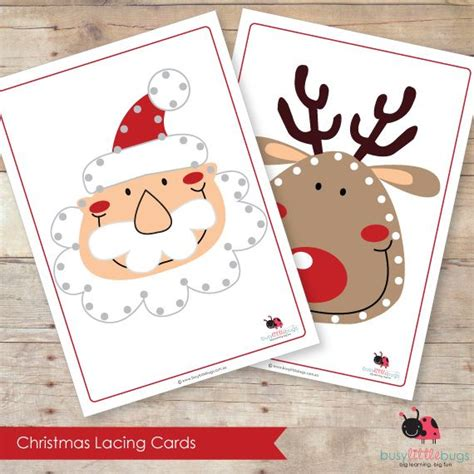 printable christmas lacing cards 33 best images about sewing cards on pinterest vintage