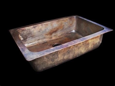 Bronze Sinks Kitchen Cast Bronze Single Bowl Undermount Kitchen Sink