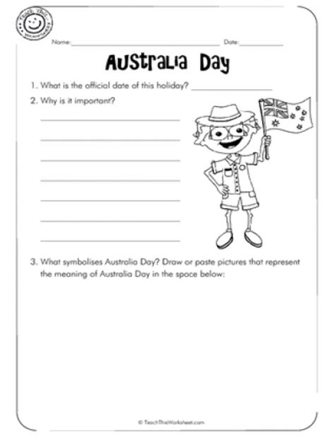 australia day worksheets year 1 teach this worksheets create and customise your own