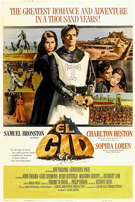movie poster for the epic of everest flicks el cid 1961 filmaffinity