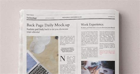 newspaper theme psd daily newspaper psd mockup heroturko download