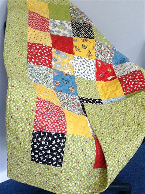 Cot Quilt Patchwork Patterns - abc 123 patchwork cot quilt wendy j quilts madeit au