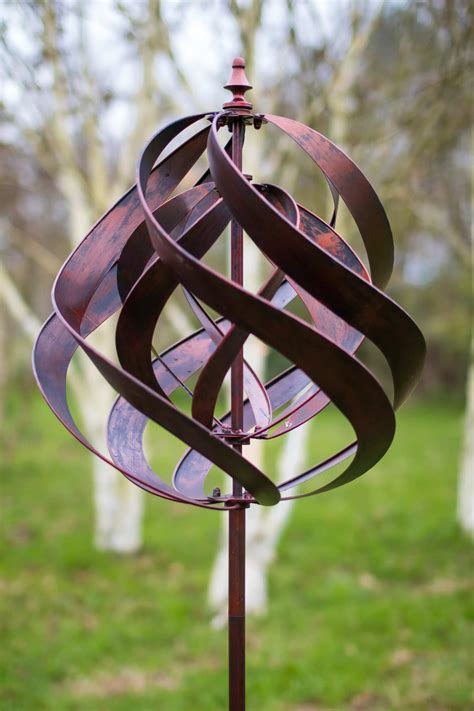 saturn copper wind spinner  cm