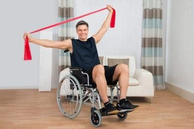 extremity exercises for spinal cord injury patients