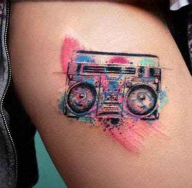 radio tattoo 17 best images about water color tatto on