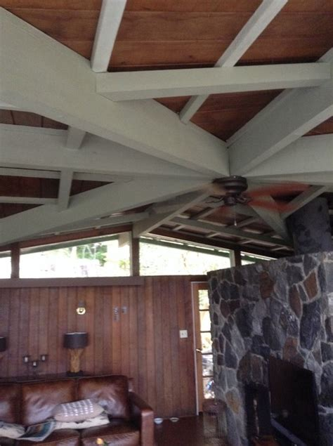 Painted Wood Ceiling by Painted Wooden Ceiling Beams